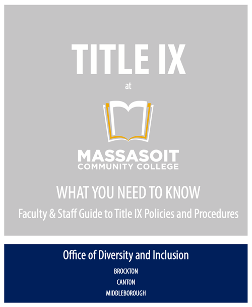 Title IX Faculty and Staff Guide