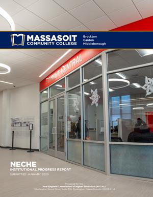 NECHE 2-Year Report cover